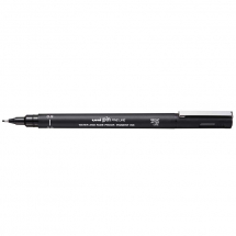 UNI PIN FINELINE PEN BLACK 0.9
