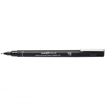 UNI PIN FINELINE PEN BLACK 1.0