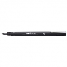 UNI PIN FINELINE PEN BLACK 1.2