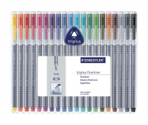 STAEDTLER TRIPLUS FINELINER 20 COLOUR SET