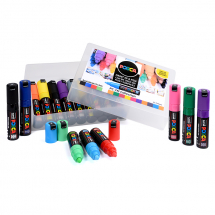 POSCA MARKER PC-7M 15pce ASSTD COLLECTION PACK