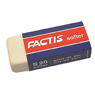 FACTIS SOFT SYNTHETIC ERASER (S20)