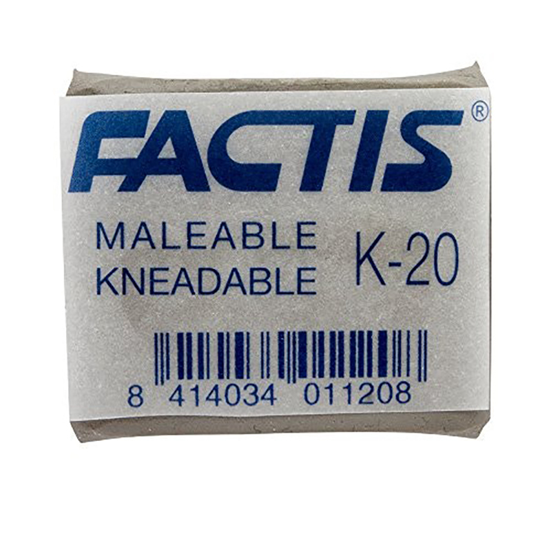 FACTIS KNEADABLE PUTTY ERASER (K20)