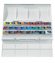 COTMAN WATERCOLOUR STUDIO SET 24 WHOLE PANS