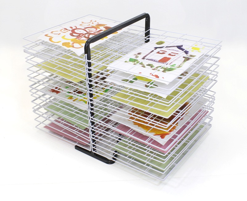 TABLE TOP DRYING RACK 40 SHELVES