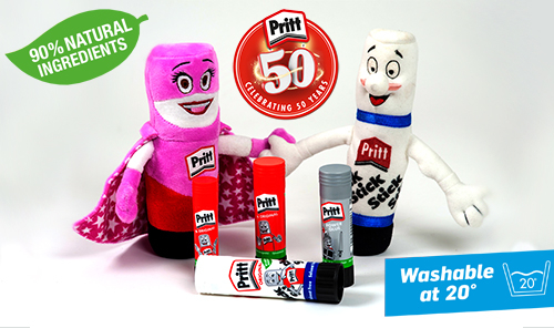 Pritt Stick Celebrates it's 50th Anniversary