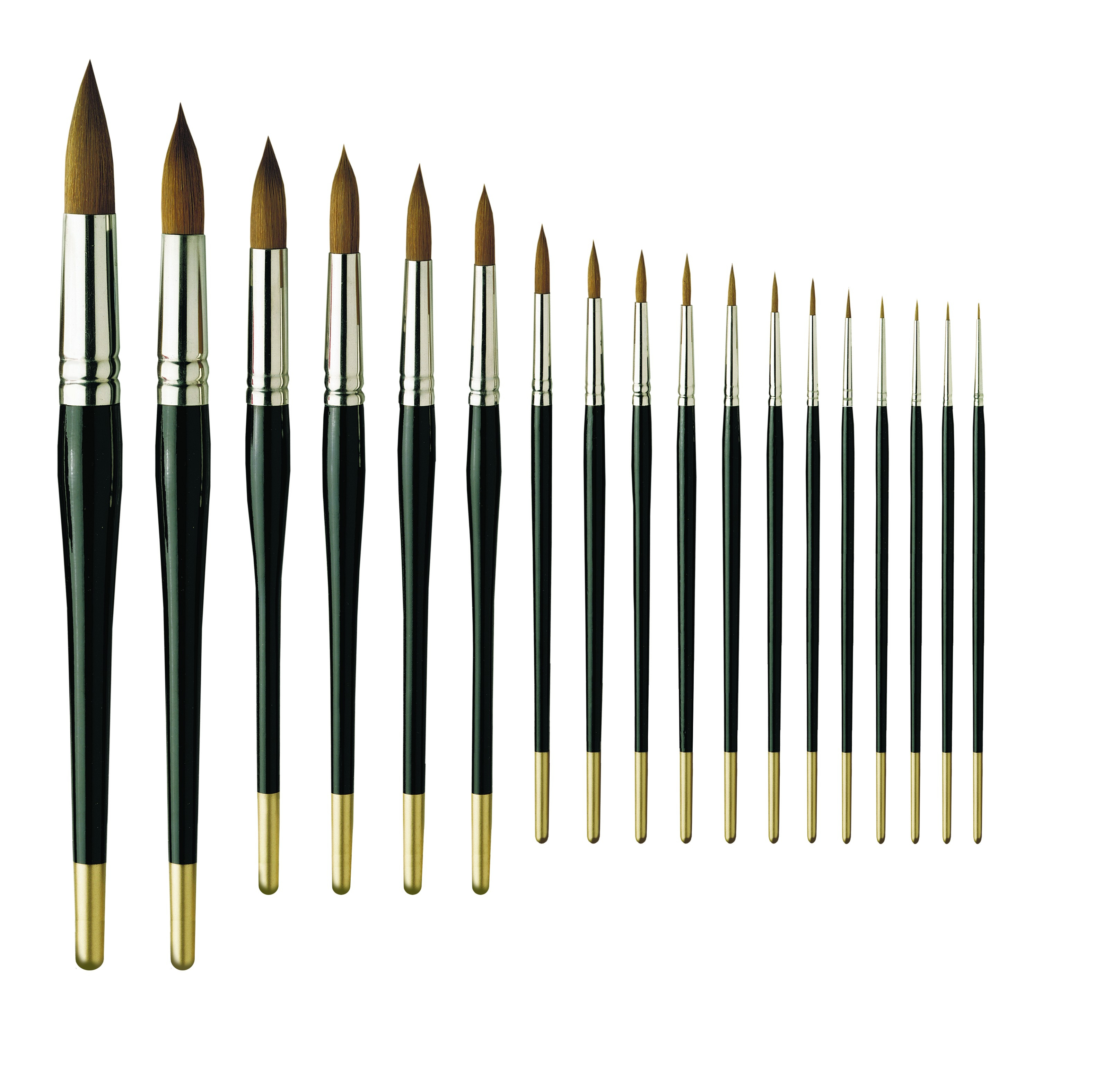 Pro Arte Series 101 Prolene Round Brushes