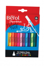 Berol Colour Fabric Pens