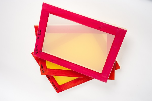Wooden Pre-meshed Printing Frames