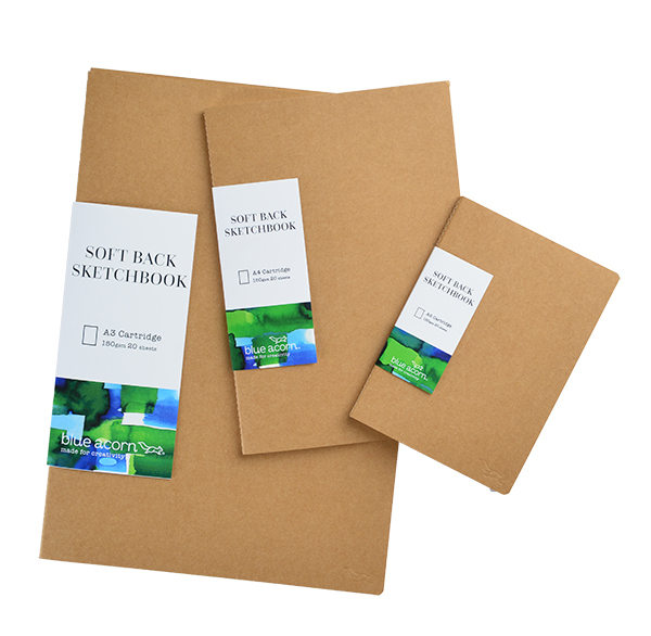 Softback Sewn Sketch Books