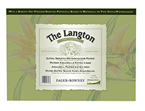 Langton Gummed Pads 140lb Not & Hot Pressed