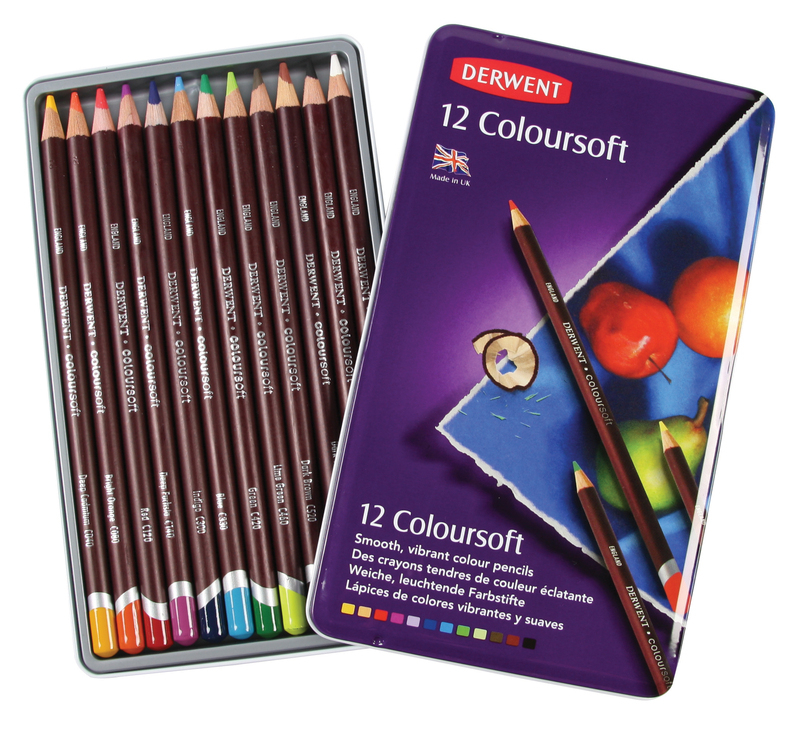 Derwent Coloursoft Pencils & S