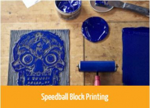 Speedball Water-Soluble Block Printing Inks