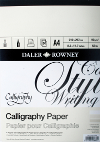 Daler Rowney Calligraphy Pads - 90gsm